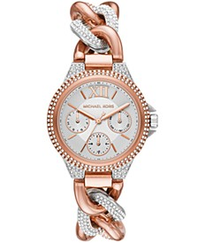 Camille Multifunction Rose Gold-Tone Stainless Watch