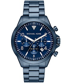 Gage Chronograph Navy Stainless Steel Watch