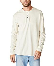 Henley Long Sleeve T-Shirt