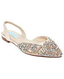 Betsey Johnson Women's Molly Evening Flats