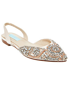 Blue by Betsey Johnson Women's Molly Evening Flats