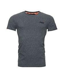 Men's Orange Label Logo Embroidered T-shirt