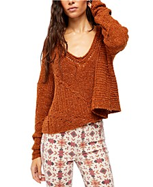 Seashell Cotton Sweater