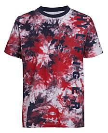 Big Boys Swirl Print T-shirt