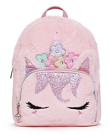 Big Girls Miss Gwen Unicorn Plush Mini Backpack