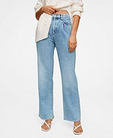 High Waist Darts Jeans