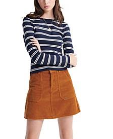 Retro Stripe Long Sleeved Top