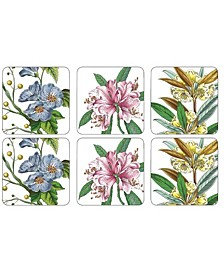 Pimpernel Stafford Blooms Coasters, Set of 6