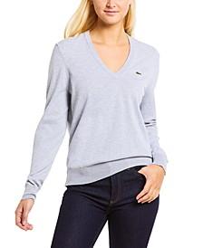 Classic Cotton Boyfriend-Fit Long-Sleeve Sweater