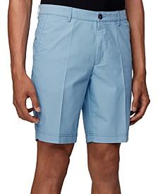 BOSS Men's Turquoise Slice-Shorts