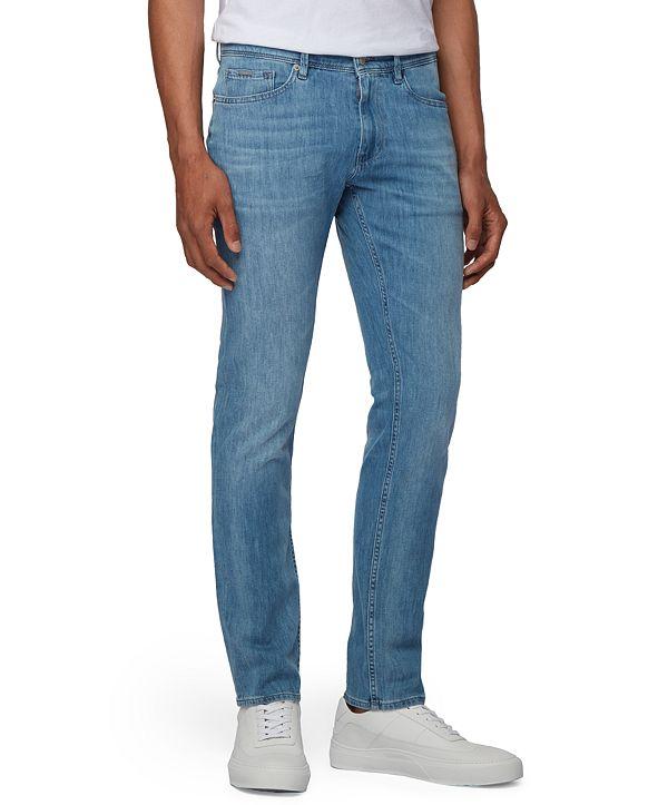 Hugo Boss BOSS Men's Charleston Turquoise Jeans