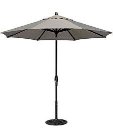 Patio Umbrella, Outdoor Bronze 9' Auto-Tilt
