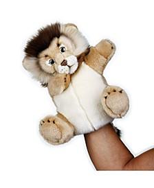 Plush Hand Puppets - Lion Interactive Qr Code