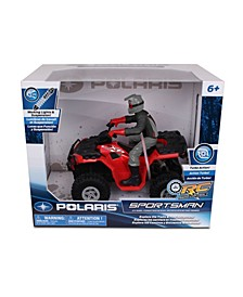 Polaris 1-8 Scale Rc Polaris Sportsman Xp 1000 with Turbo Boost Rider Colors May Vary