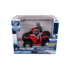 Nkok Polaris 1-8 Scale Rc Polaris Sportsman Xp 1000 with Turbo Boost Rider Colors May Vary