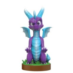 Exquisite Gaming Cable Guy Charging Controller and Device Holder - Ice Spyro from Spyro Reignighted Trilogy
