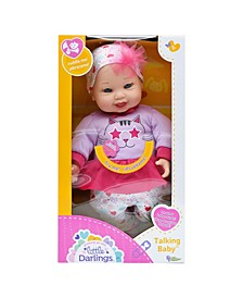 Toy Talking Baby Doll with 6 Sounds