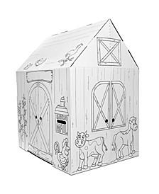 Barn Cardboard Playhouse
