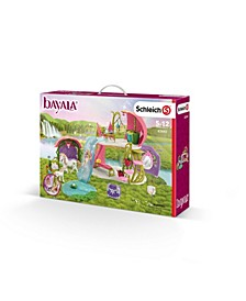 Bayala, Flower House with Lake Stable Toy Figurine Playset