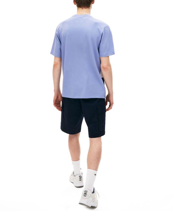 Lacoste Men's Casual Pique T-Shirt & Reviews - T-Shirts - Men - Macy's