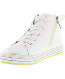 Little Girls High Top Sneaker