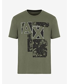 Men's AX Logo Environment Print T-shirt