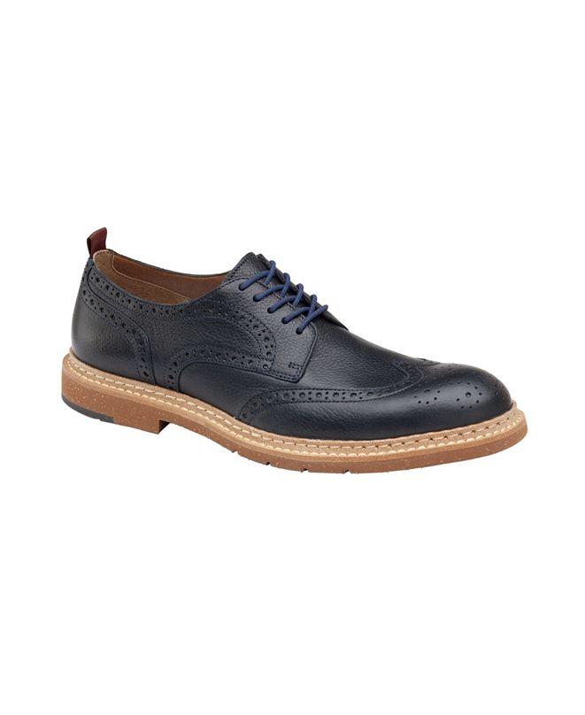 Johnston & Murphy Men's Pearce Wingtip Shoes