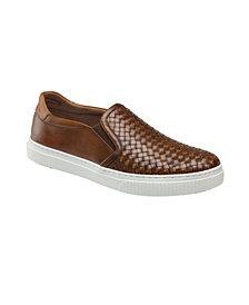 Johnston & Murphy Men's Toliver Woven Slip-On Loafers