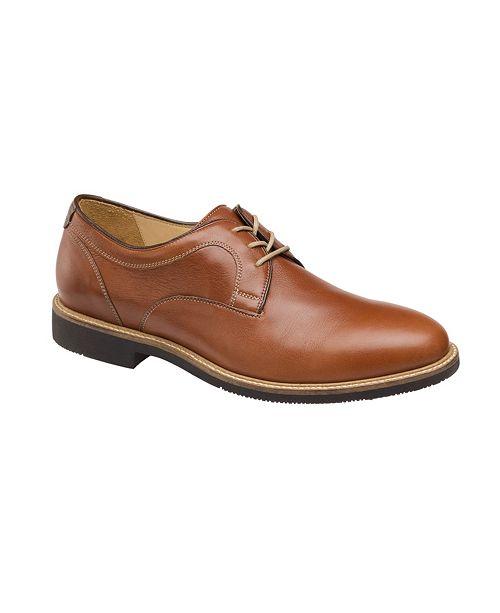 Johnston & Murphy Men's Barlow Plain Toe Dress Shoes