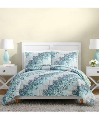 Vera Bradley Cloud Vines Floral Embroidered Decorative Pillow