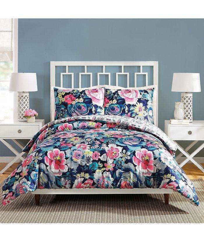 Jessica Simpson - Garden Grove King Comforter Set - 3Pc