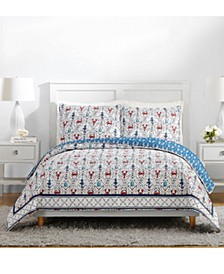 Sea Life Twin Quilt