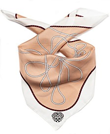 Nautical Knots Silk Bandana