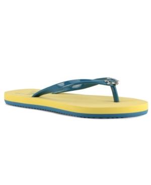Women's Cabana Turtle Flip-Flop Sandals Women's Shoes