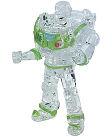 3D Crystal Puzzle - Disney Toy Story 4 - Buzz Lightyear Clear - 44 Pieces