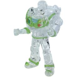 Bepuzzled 3D Crystal Puzzle - Disney Toy Story 4 - Buzz Lightyear Clear - 44 Pieces