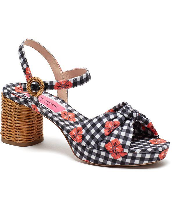 kate spade new york Women's Hayden Knot Dress Sandals