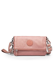 Lynne Metallic Convertible Crossbody
