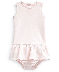 Baby Girls French Terry Dress & Bloomer
