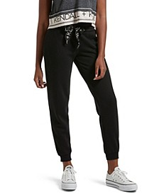 Women's Oversized Drawstring Lounge Pant