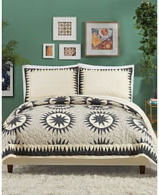 Justina Blakeney by Soleil 3-Piece Full/Queen Quilt Set