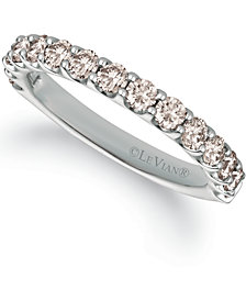 Le Vian® Strawberry & Nude™ Diamond Band (1 ct. t.w.) in 14k Gold, White or Rose Gold