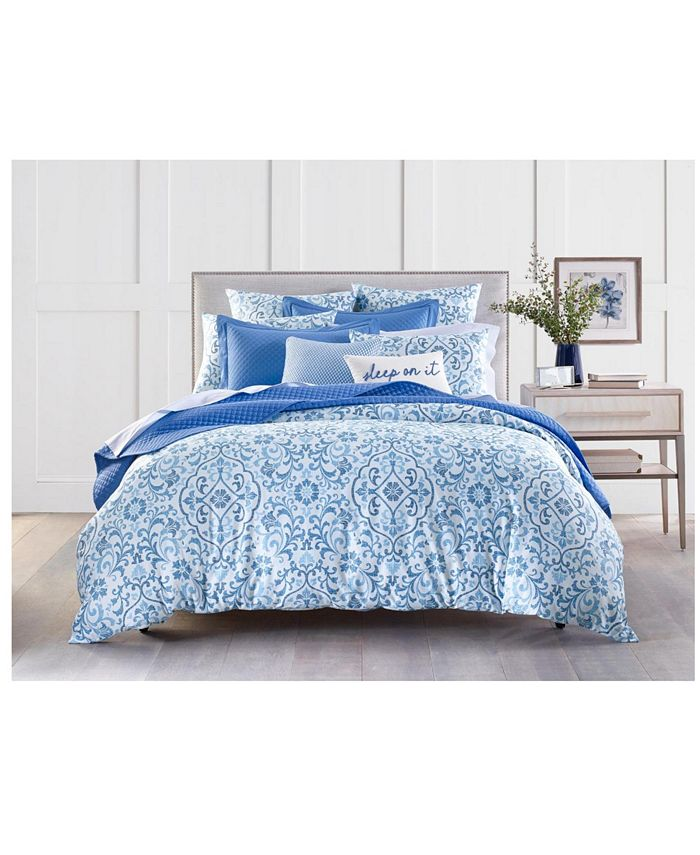 Charter Club - Filigree 300-Thread Count Comforter Set, Created for Macy's