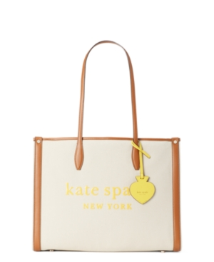 Kate Spade KATE SPADE NEW YORK MARKET CANVAS LARGE TOTE