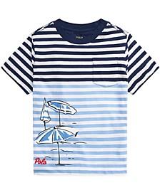 Little Boys Striped Cotton Jersey T-Shirt