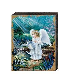 by Dona Gelsinger an Angel's Gift Wooden Block
