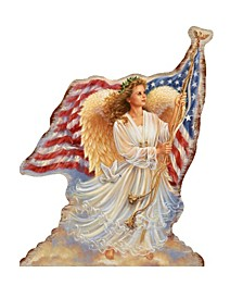 by Dona Gelsinger American Angel Ornament, Set of 2
