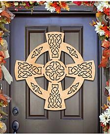 Celtic Wheel Cross Wall Decor