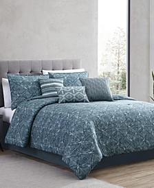 Daytona 7 Piece Queen Comforter Set