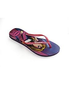 Women's Slim Villains Flip Flops